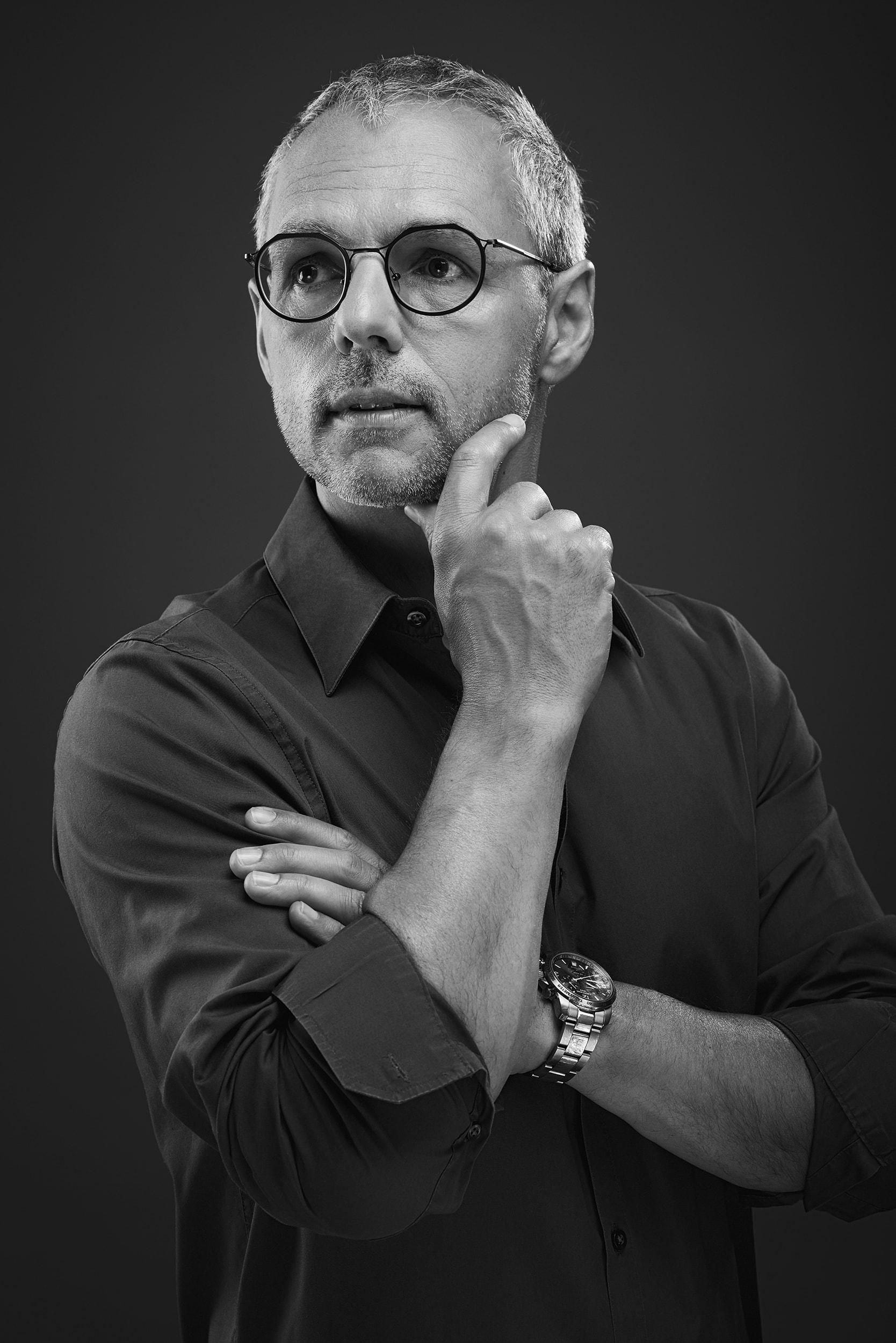 Inhaber der Brillenbühne und kreativer Kopf