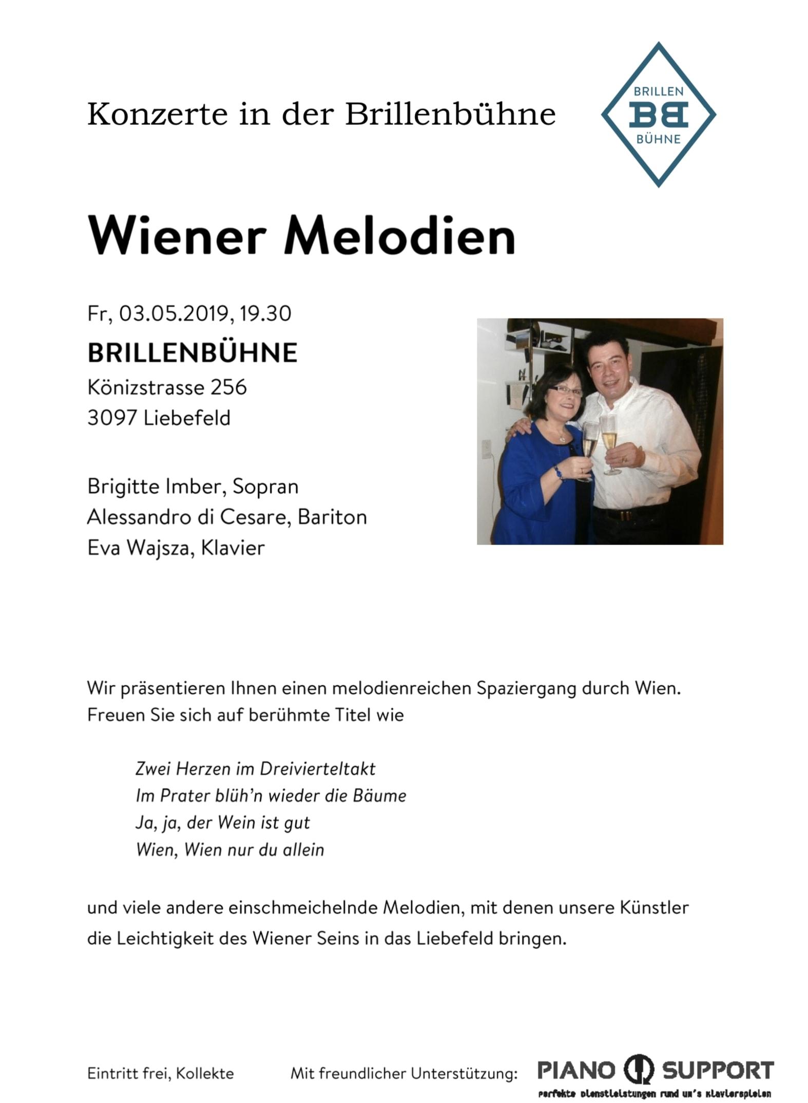 Wiener Melodien bei BRILLENBÜHNE